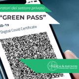 Estensione obbligo Green Pass dal 15 ottobre